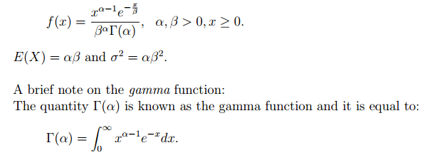 T1: When X is normal, distribution of X^2 (or Z^2) is a type of